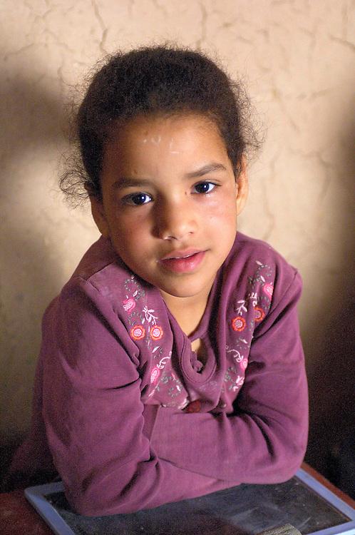 Escola Bressol, Scholl Children, Association El Khorbat Aedi, Ksar Tinejdad, Morocco