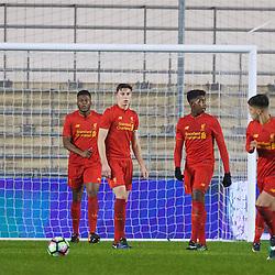 170118 Man City U18 v Liverpool U18