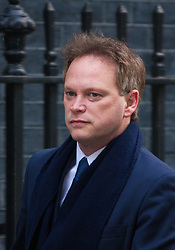 Downing Street, London, January 27th 2015. Ministers attend the weekly cabinet meeting at Downing Street. PICTURED: Grant Shapps