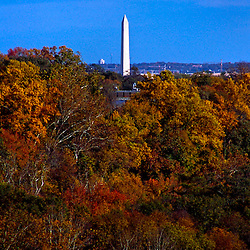 Washington Monument from the George Washington Parkway, Arlington, Virginia and Washington, DC