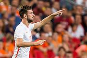 AMSTERDAM - Nederland - USA , Amsterdam ArenA , Voetbal , oefeninterland , 05-06-2015 , Nederlands elftal speler Davy Propper maakt zijn debuut in oranje