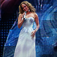 J Lo , Jennifer Lopez performing during the finale of The 2006 Juntos En Concierto presented by ING at Madison Square Garden on August 9, 2006.