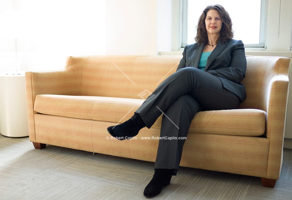 Feb. 15, 2013, New York, NY - Andrea MIller, President of NARAL Pro-Choice America...Photo by Robert Caplin..