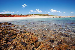 The beach between James Price Point and Quandong Point, site of a proposed LNG Hub.