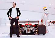 Medena, Casa Museo Enzo Ferrari. Jilles Villeneuve's car. Jonathan Giacobazzi , one of the most important formula one race car collector.