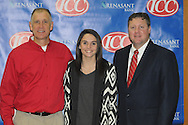 Lafayette High's Kendall Glass signs to play softball at Itawamba Community College, in Oxford, Miss. on Thursday, January 17, 2013.