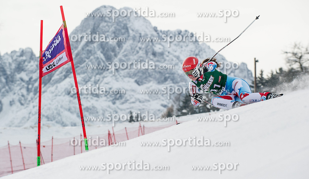 28.12.2013, Hochstein, Lienz, AUT, FIS Weltcup Ski Alpin, Lienz, Riesentorlauf, Damen, 1. Durchgang, im Bild Anemone Marmottan (FRA) // during the 1st run of ladies giant slalom Lienz FIS Ski Alpine World Cup at Hochstein in Lienz, Austria on 2013-12-28, EXPA Pictures © 2013 PhotoCredit: EXPA/ Michael Gruber