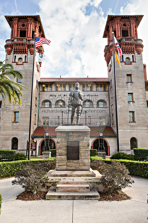 Lightner Museum in St. Augustine, Florida. The building was originally the Alcazar Hotel.
