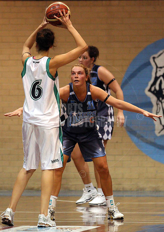 PERTH, AUSTRALIA - APRIL 21:  during the week 6 WSBL game between the Willetton TIgers and the Wanneroo Wolves at Willetton Stadium on April 21, 2011 in Perth, Australia.  (Photo by Paul Kane/Allsports Photography)