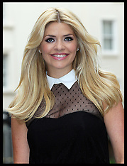 File Photo - Holly Willoughby has given birth to a baby boy