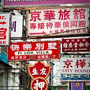 CHINA (Hong Kong). 2009. Advertisements in the streets of Hong Kong.