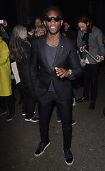 Tinie Tempah attends LCM a/w 2015 Oliver Spencer Show  at The Old Sorting House, New Oxford Street,  London on Saturday 10 January 2015