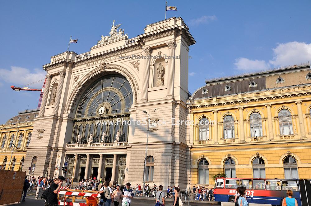 Eastern Europe, Hungary, Budapest, Keleti railway station
