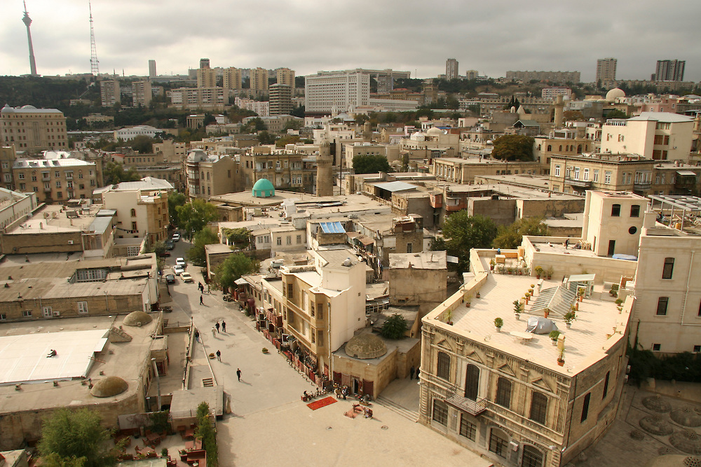 Old Baku on October 28, 2005.