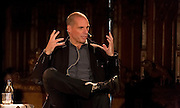 5-11-15<br /> Yanis Varoufakis pictured at St Canice's Cathedral in Kilkenny at the Kilkenomics Festival.<br />  <br /> Picture Dylan Vaughan.