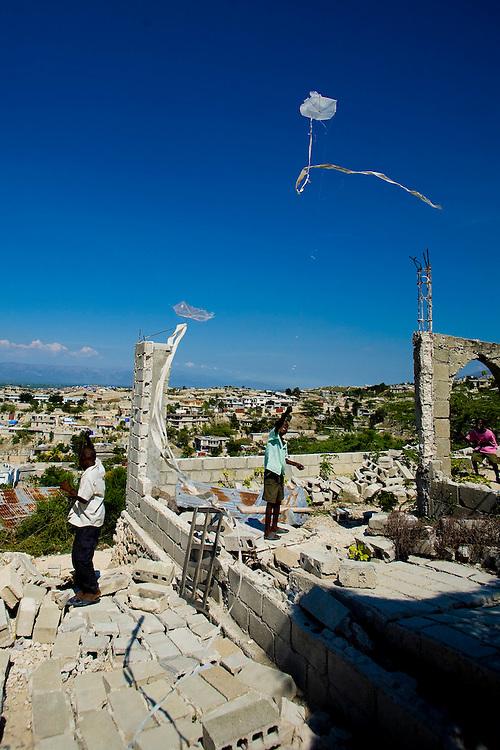 Port Au Prince, Haiti. Photo by Ben Depp, 3/29/2010