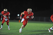 Lafayette High's Elliot Markuson (8) vs. Duval Charter in Oxford, Miss. on Friday, September 7, 2012. Lafayette High won 69-0.