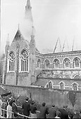 1965 - 28/07 Fire at St Michael's Church, Dun Laoghaire