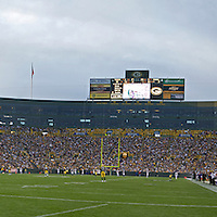 2008 Minnesota Vikings vs Green Bay Packers at Lambeau Field in Green Bay, Wisconsin on Monday, September 8, 2008.  First regular season game of the 2008 season.