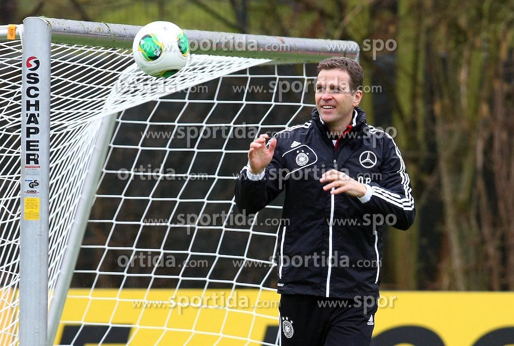20.03.2013, Kleine Kampfbahn, Frankfurt, GER, FIFA WM Qualifikation, Training Deutschland, im Bild Manager Oliver Bierhoff, Freisteller // during an practice session of German Footballteam // before the FIFA World Cup Qualifier at the Kleine Kampfbahn, Frankfurt, Germany on 2013/03/20. EXPA Pictures © 2013, PhotoCredit: EXPA/ Eibner/ Bildpressehaus..***** ATTENTION - OUT OF GER *****