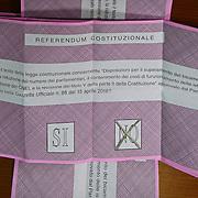 Il giorno del Referendum