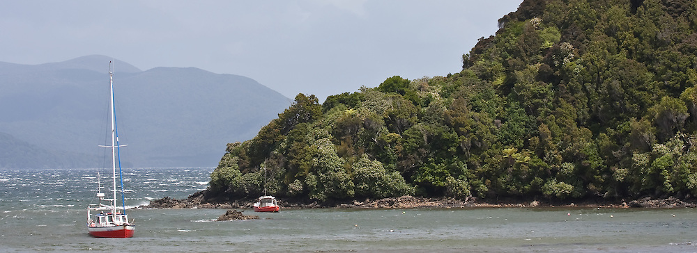Stewart Island, New Zealand (12x33 inch print)