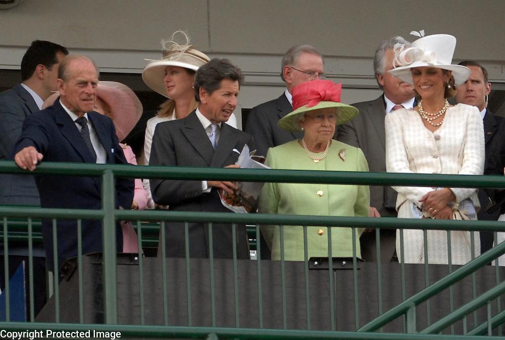 Queen Elizabeth vivitied the 133rd Kentucky Derby