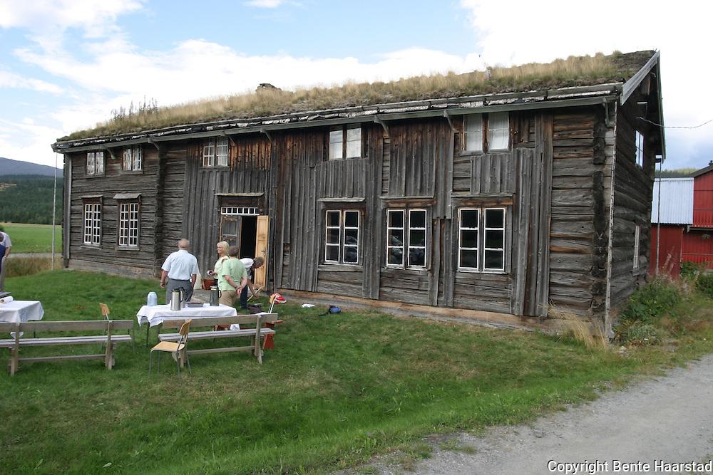 Storaunstuggu fra 1666, Tydals eldste bygning. Old houses in Tydal