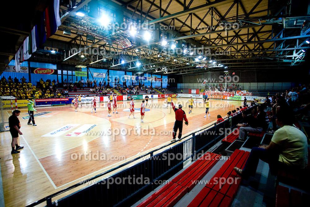 Arena Kodeljevo at handball match of MIK 1st Men league between RD Slovan and RK Gorenje Velenje, on May 16, 2009, in Arena Kodeljevo, Ljubljana, Slovenia. Gorenje won 27:26. (Photo by Vid Ponikvar / Sportida)