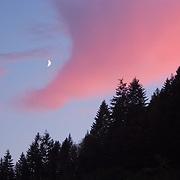 Moonrise Deadwood Oregon