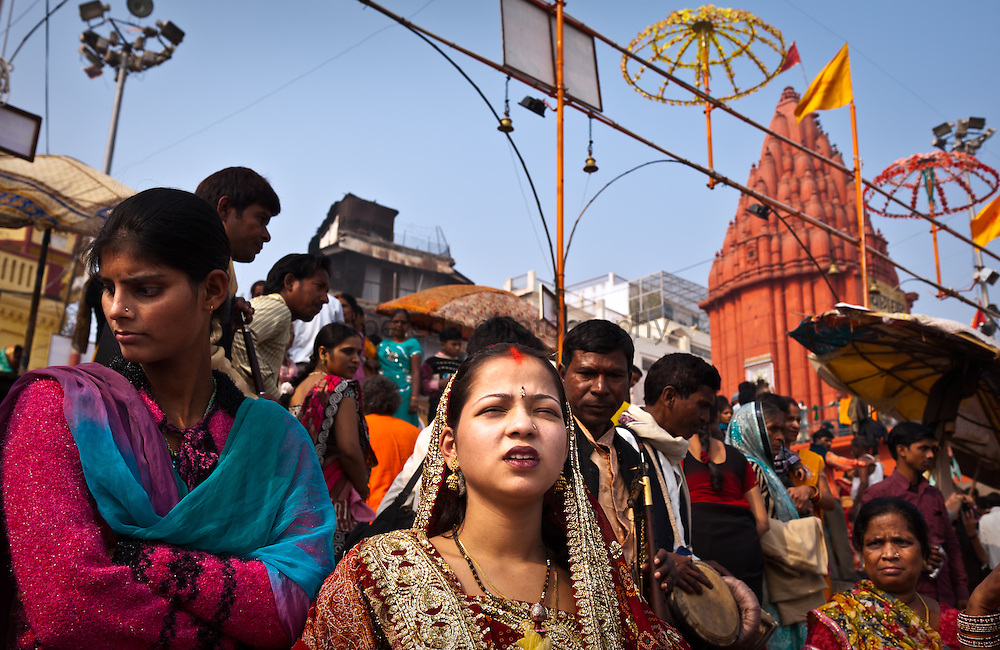Wedding in Chausatti Ghat, Varanasi