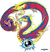 The Dragon Artwork of J. Michael Tracy