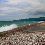 &quot;Agawa Bay&quot;<br /> <br /> A beautiful and stormy scene at Agawa Bay in Lake Superior Provincial Park, in Ontario, Canada!