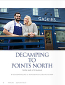 Spring 2016, Edible, Decamping to Points North