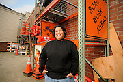 Val Solorzano is the owner of Chick of All Trades, a Portland-based company that focuses on energy audits and weatherization upgrades, and its sister company, C.O.A.T. Flagging, which specializes in traffic control and flagging for contractors.
