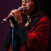 10/19/10 Wilmington DE: Natalie Merchant Female vocalist, formerly with 10,000 Maniacs performs at The Grand Opera House in Wilmington. Special to The News Journal/SAQUAN STIMPSON