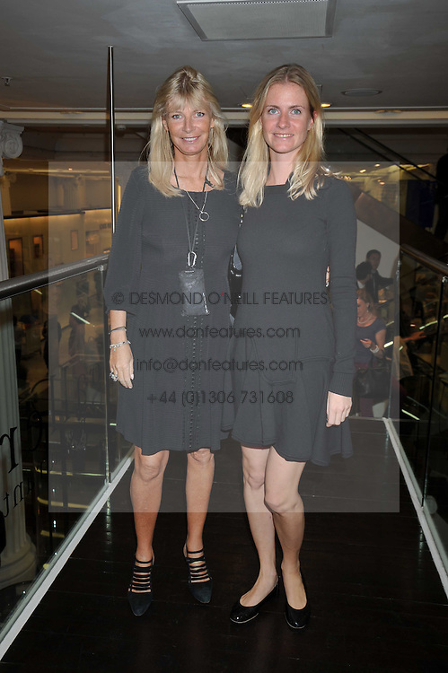 Left to right, PANDORA DELEVINGNE and her daughter CHLOE DELEVINGNE at the launch of Tom Parker Bowles's new book 'Full English' held in the Gallery Restaurant, Selfridges, Oxford Street, London on 9th September 2009.