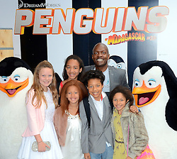 Lizzie Cundy attend Penguins of Madagascar Multimedia Screening at Vue West End, Leicester Square, London on Saturday 29th   November 2014