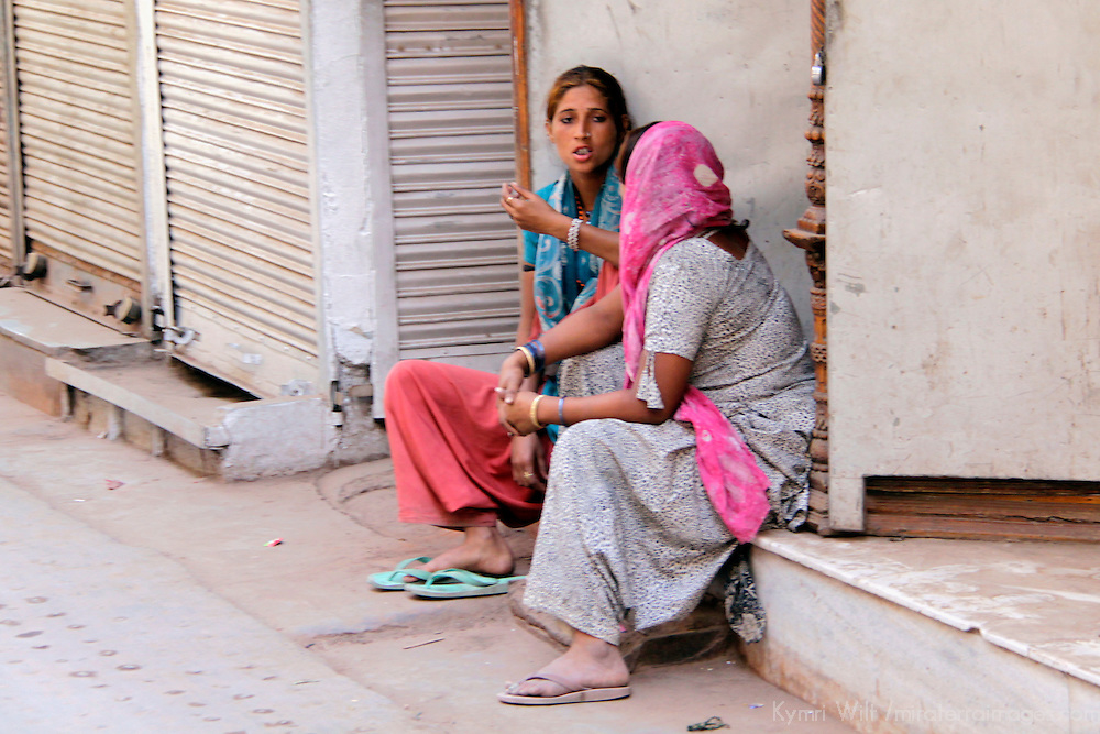 Asia, India, New Delhi. Scene of life in Old Delhi.