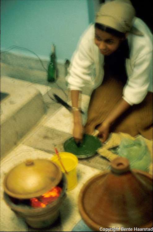 matlaging med tagine, Sidi Ifni..dias