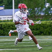 University of Maryland Midfielder ISAIAH DAVIS-ALLEN (26) in action during the second half of a 2017 NCAA Division I Men's Lacrosse Quarterfinals game between #1 Maryland and #8 Albany Sunday, May. 21, 2017 at Delaware Stadium in Newark, Delaware.