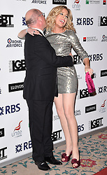 Guest and Katie Hopkins attend The British LGBT Awards at The Landmark Hotel, London on Friday 24 April 2015