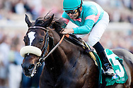 Zenyattawith Mike Smith up wins the Clement L Hirsch Stakes at Del Mar, Del Mar Calif. August 7, 2010<br /> <br /> Please Credit Alex Evers/ Equisport Photos