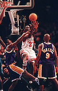 Michael Jordan. 1998 NBA All-Star Game MVP. Madison Square Garden. New York, NY.