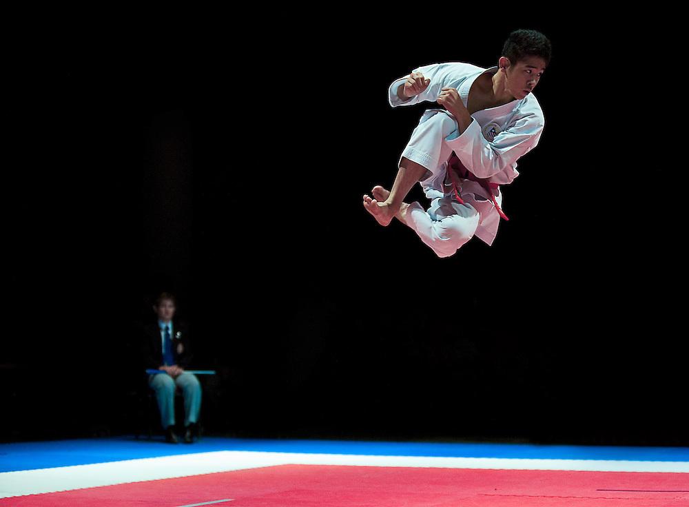 USA Karate National Championships finalist  Gakuji Tozaki at Greenville, SC on July 11, 2010. © 2010 Shelley Lipton