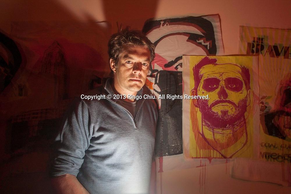 "Jason Blum, horror movie producer and founder of haunted house, ""The Purge: Fear the Night."" (Photo by Ringo Chiu/PHOTOFORMULA.com)"