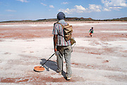 Bruce Smith 'goes bush' to hunt for kangaroo and goanna. He takes time out to do a bit of prospecting at a nearby Salt Lake. September 17 2006