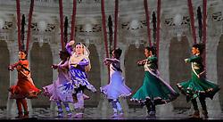 Beyond Bollywood dress rehearsal at The London Palladium on Friday 8 May 2015