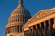 United States Capitol, Washington DC, District of Columbia, designed by William Thornton, USA