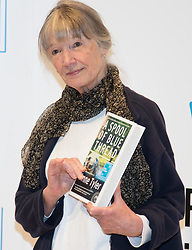 Royal Festival Hall, London, October 12th 2015. Man Booker Prize for Fiction Finalists gather at the Royal Festival Hall on the eve of the £50,000 prize winner's announcement. PICTURED: American writer Anne Tyler, author of A Spool of Blue Thread, published by Chatto & Windus.